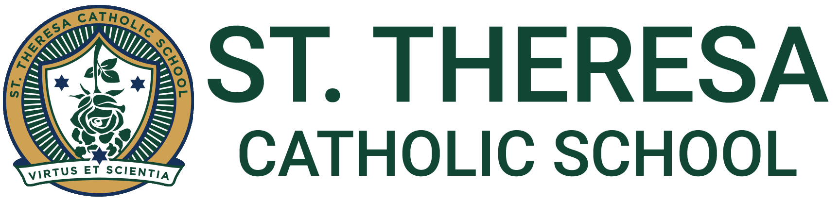 St Theresa Catholic School Logo